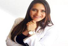 La presidenta de la Unión Empresarial del Comercio y los Servicios del Estado Zulia, Andrea Cruz Bracho