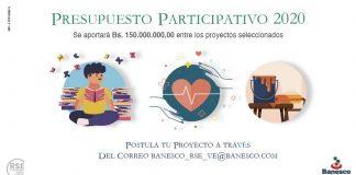 Banesco inicia Presupuesto Participativo 2020